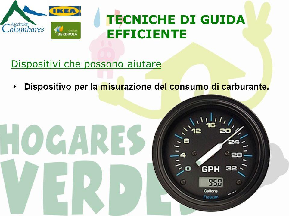 Dispositivo per la misurazione del consumo di carburante.