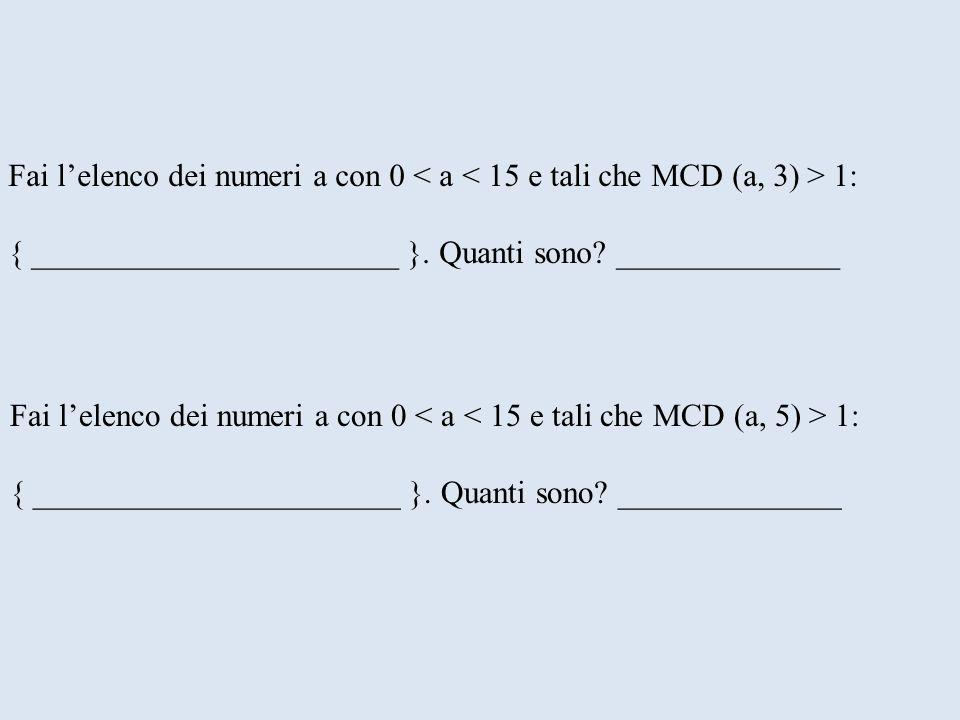 Fai lelenco dei numeri a con 0 1: { _______________________ }. Quanti sono? ______________ Fai lelenco dei numeri a con 0 1: { _______________________