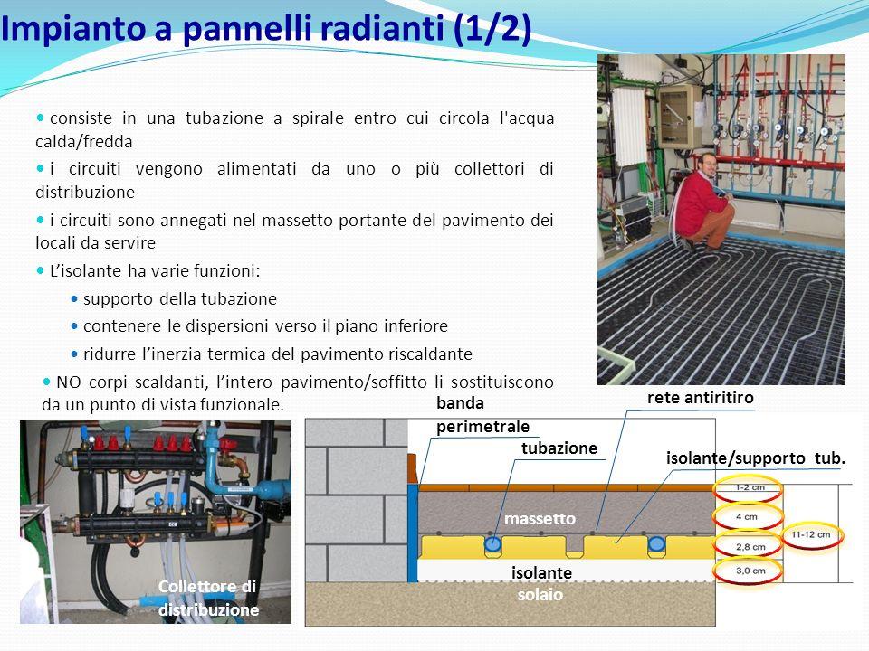 isolante/supporto tub. massetto isolante tubazione rete antiritiro banda perimetrale consiste in una tubazione a spirale entro cui circola l'acqua cal