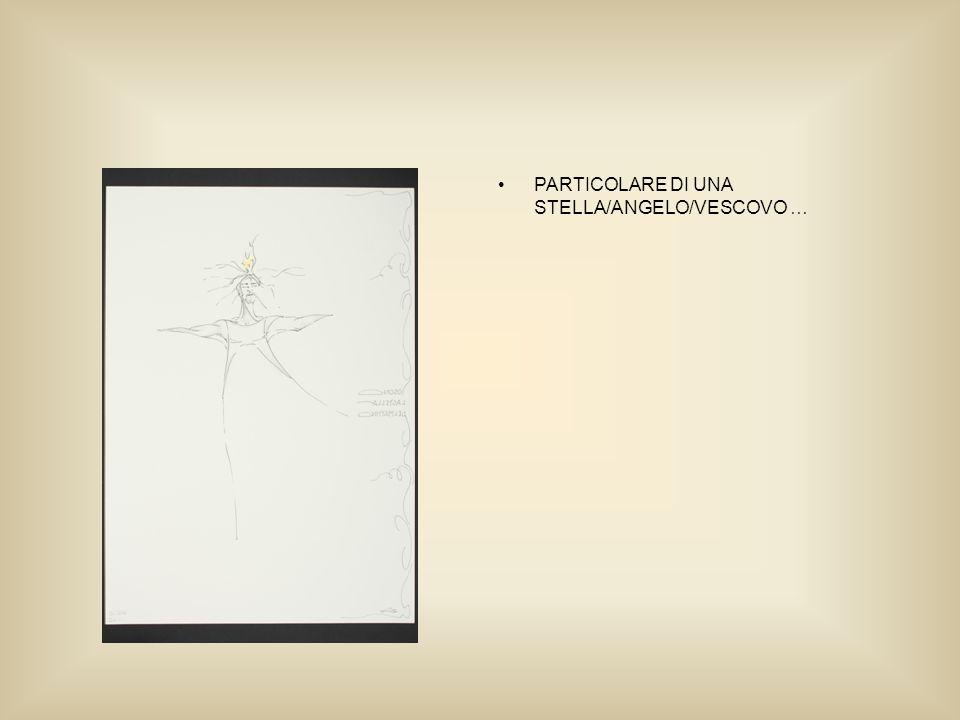 PARTICOLARE DI UNA STELLA/ANGELO/VESCOVO …