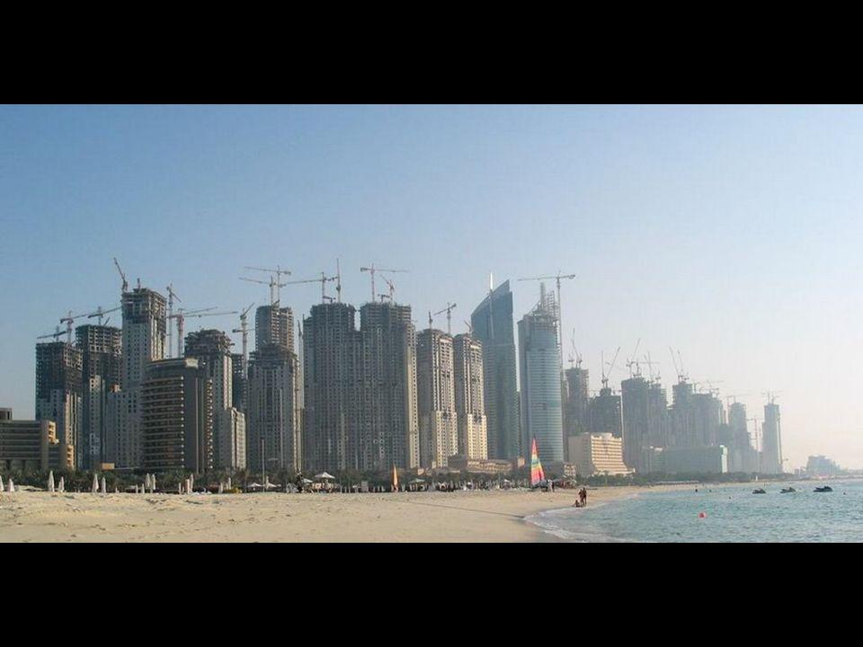 Attualmente il 15% delle gru del mondo si trova a Dubai