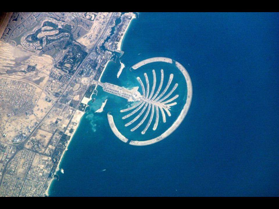 Ultimamente si sono progettate tre di tali isole-palma, ove lultima sarà la più grande.