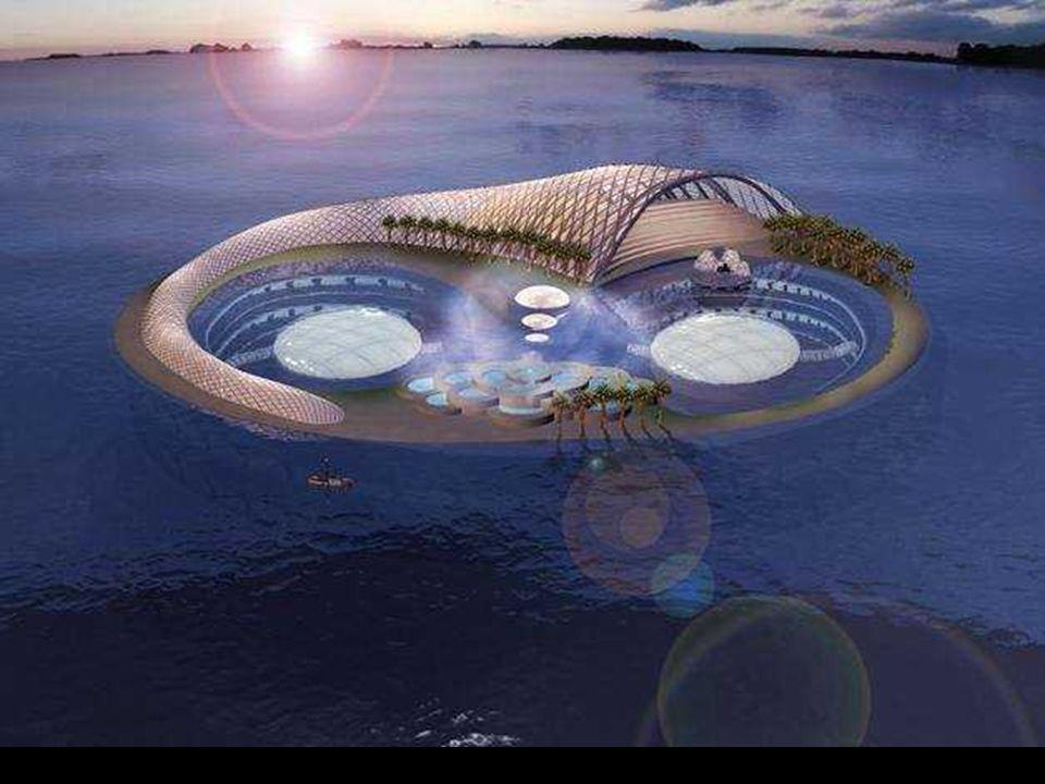 Hydropolis, il primo hotel subacqueo Costruito interamente in Germania e quindi montato a Dubai.