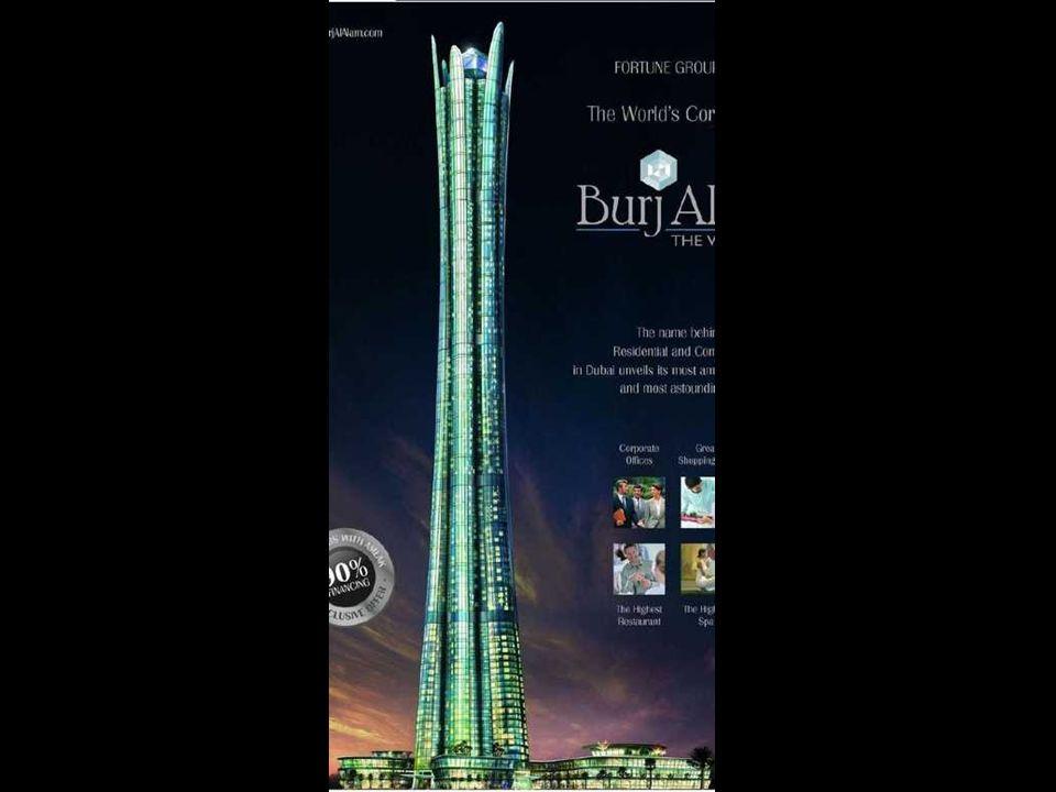 Burj al Alam (The World Tower) Con la sua costruzione diverrà il più alto hotel del mondo.
