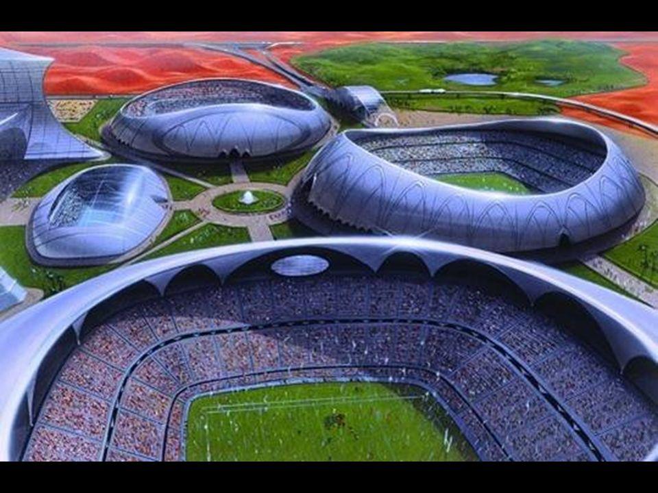 Dubai Sports City Unenorme accorpamento di vari stadi sportivi a Dubailand