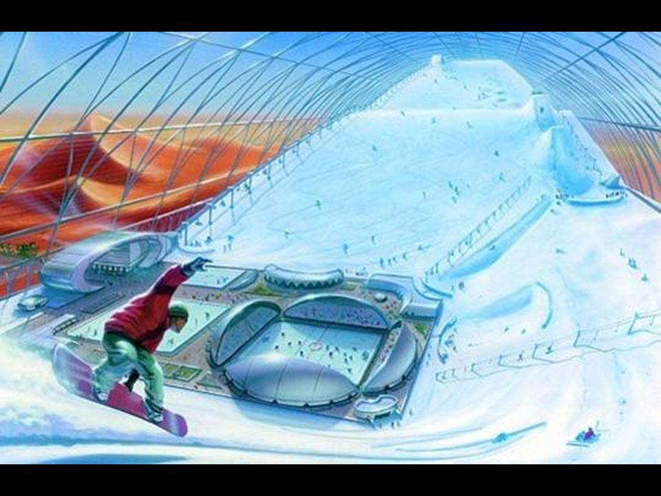E già aperto il più grande padiglione di sci del mondo.