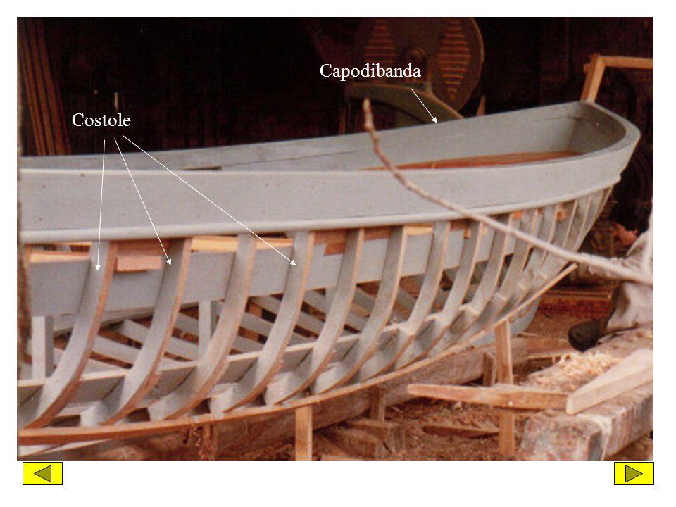 Per concludere vi mostro delle fotografie che ritraggono alcune fasi della costruzione, delle Iole da regata dellIstituto Nautico di Ortona, eseguita presso il cantiere navale di Ortona nellanno 1986