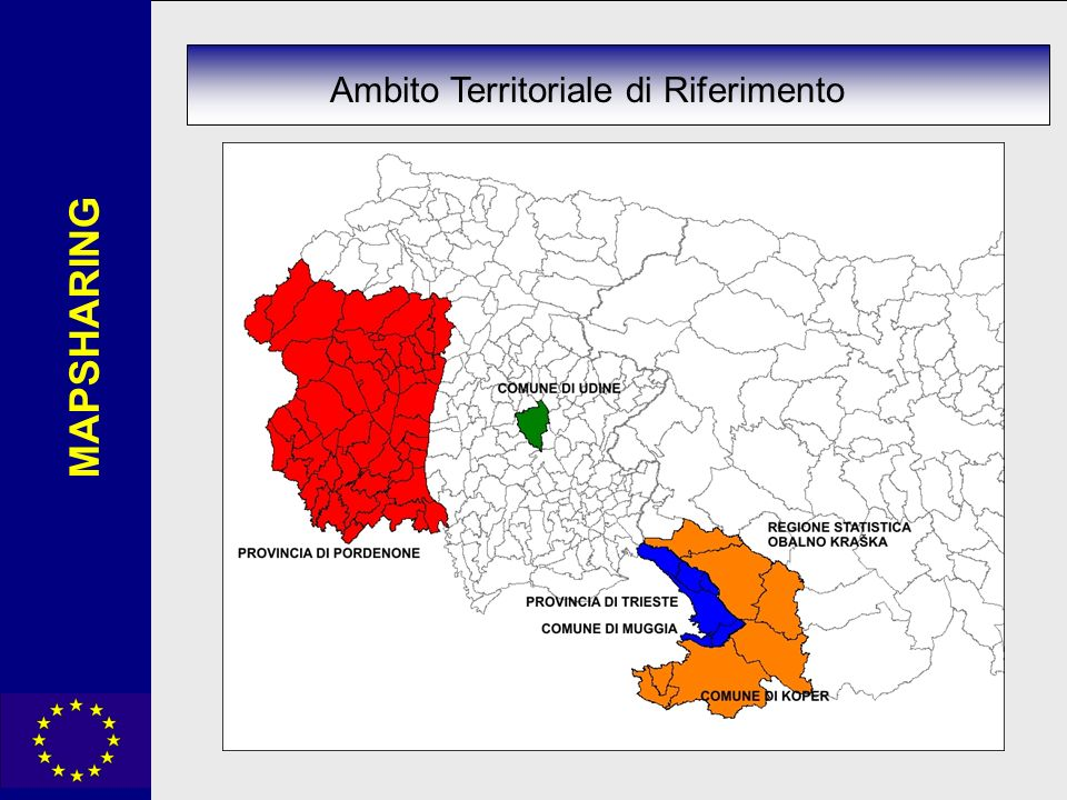 MAPSHARING Ambito Territoriale di Riferimento
