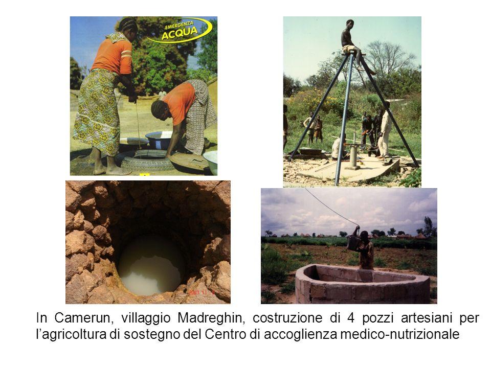 In Burundi Costruzione di pozzi ed acquedotti in località Murayi Regione di Gitega per la Missione Suore italiane Dorotee