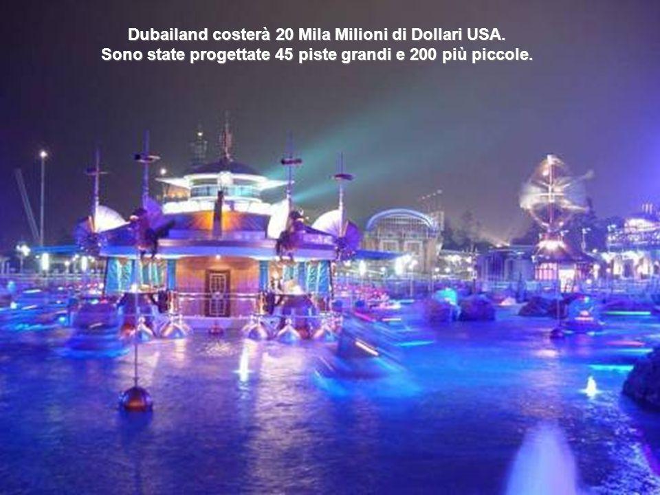 Dubailandia Attualmente il Walt Disney World Resort, di Orlando è il complesso più grande fra i parchi di attrazione, e di conseguenza, il datore di l