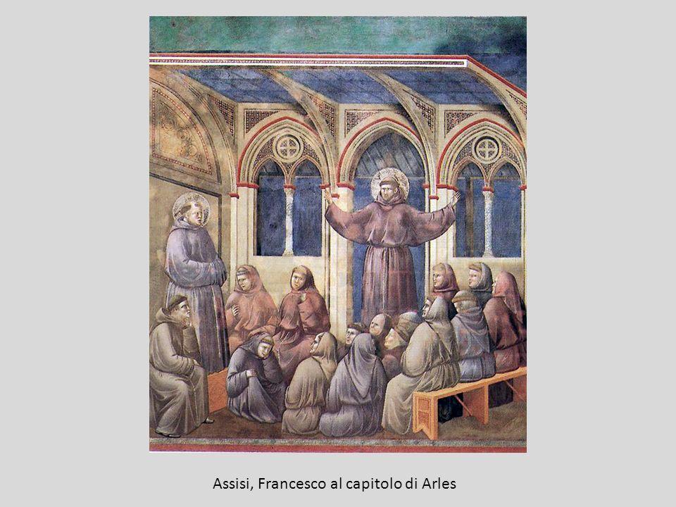 Assisi, Francesco al capitolo di Arles