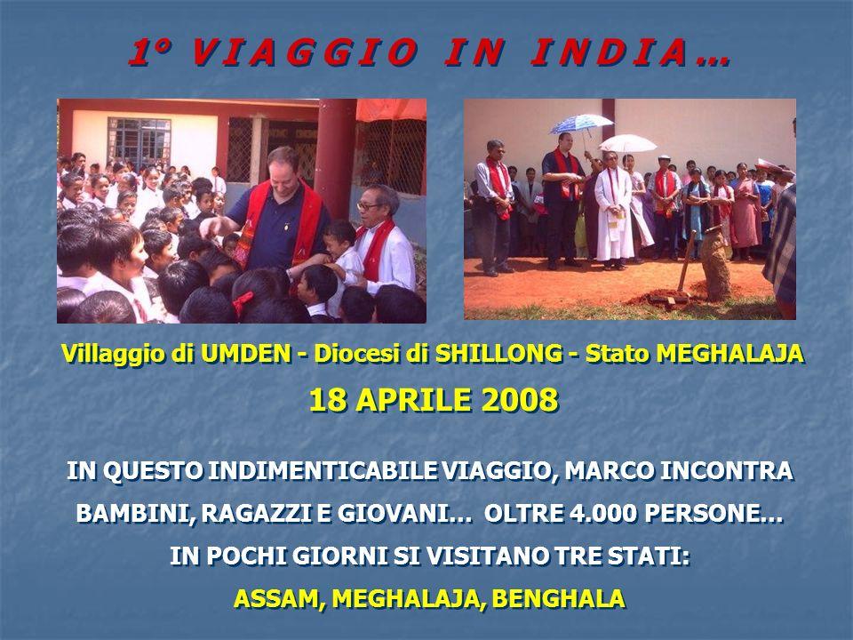 R I C O R D A N D O … R I C O R D A N D O … ROMA - 14 MAGGIO 2003 IL FONDATORE DEI PROGETTI OASI MAMMA DELLAMORE NEL MONDO MARCO INCONTRA LARCIVESCOVO INDIANO MONS.