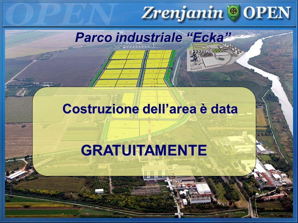 Parco industriale Ecka GRATUITAMENTE Costruzione dellarea è data