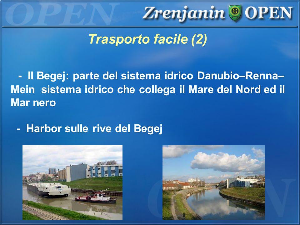 - Il Begej: parte del sistema idrico Danubio–Renna– Mein sistema idrico che collega il Mare del Nord ed il Mar nero - Harbor sulle rive del Begej Tras