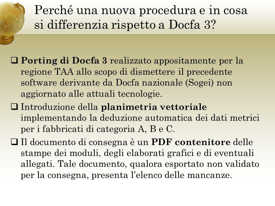 Perché una nuova procedura e in cosa si differenzia rispetto a Docfa 3.