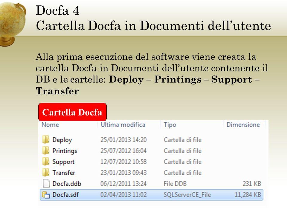 Docfa 4 Variazione - causali di presentazione Vincoli per singola causale o causali combinate: Singola causale Causale combinata
