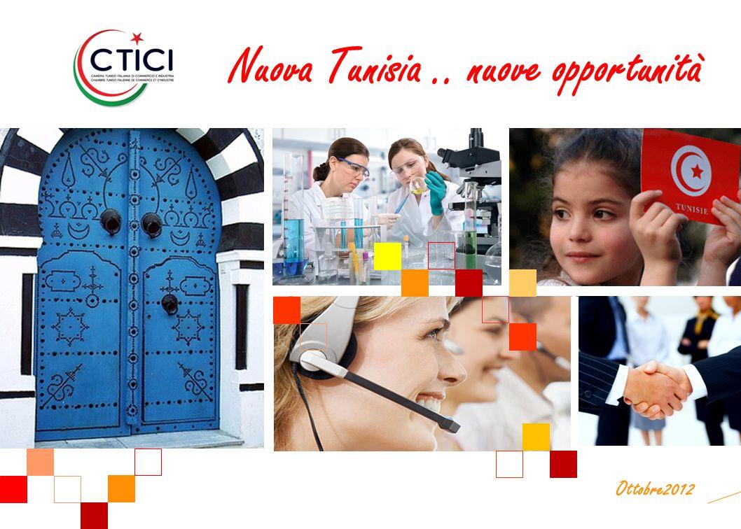 Ottobre2012 Nuova Tunisia.. nuove opportunità