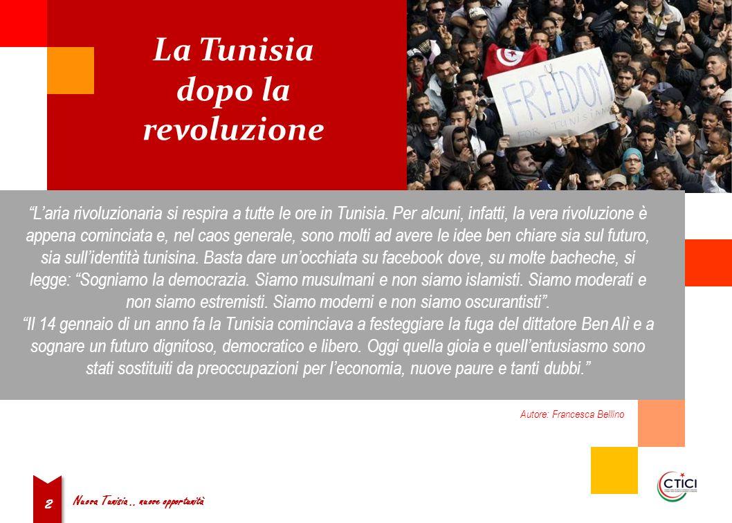 2 Laria rivoluzionaria si respira a tutte le ore in Tunisia.