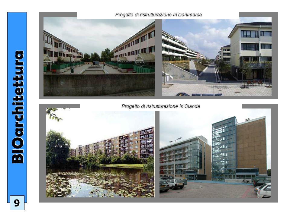 BIOarchitettura 9 Progetto di ristrutturazione in Danimarca Progetto di ristrutturazione in Olanda