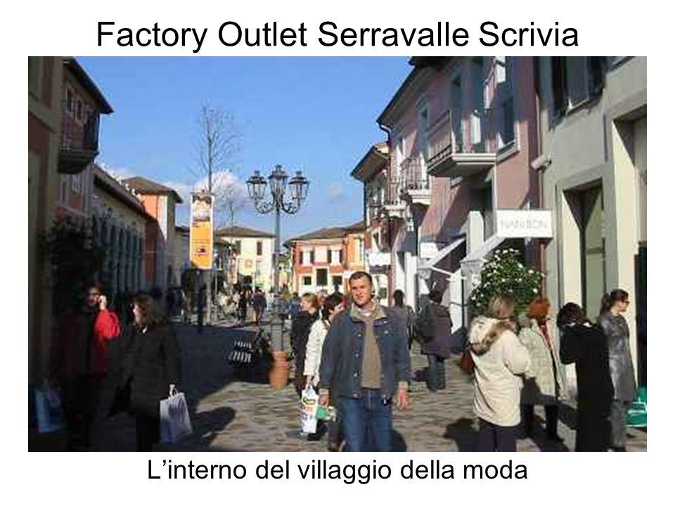 Factory Outlet Serravalle Scrivia Linterno del villaggio della moda