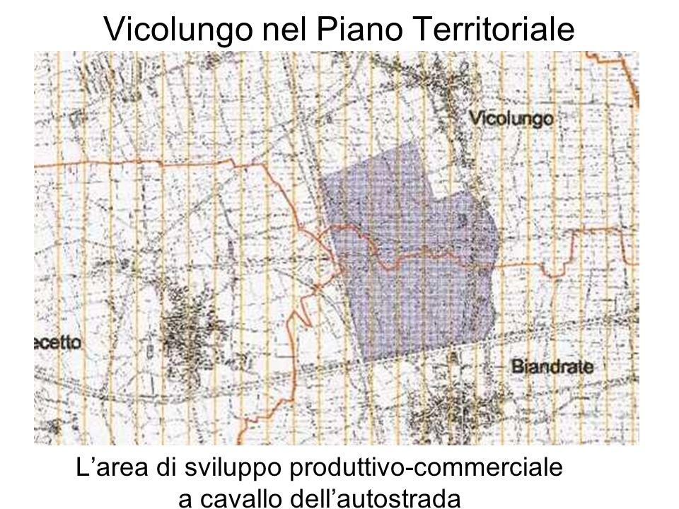 Vicolungo nel Piano Territoriale Larea di sviluppo produttivo-commerciale a cavallo dellautostrada