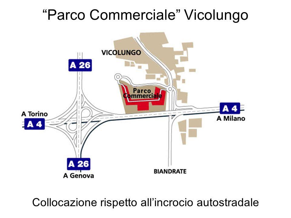 Parco Commerciale Vicolungo Collocazione rispetto allincrocio autostradale