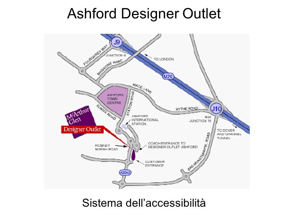 Ashford Designer Outlet Sistema dellaccessibilità
