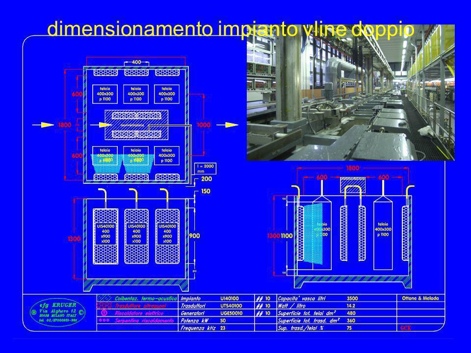 gck11 dimensionamento impianto vline doppio