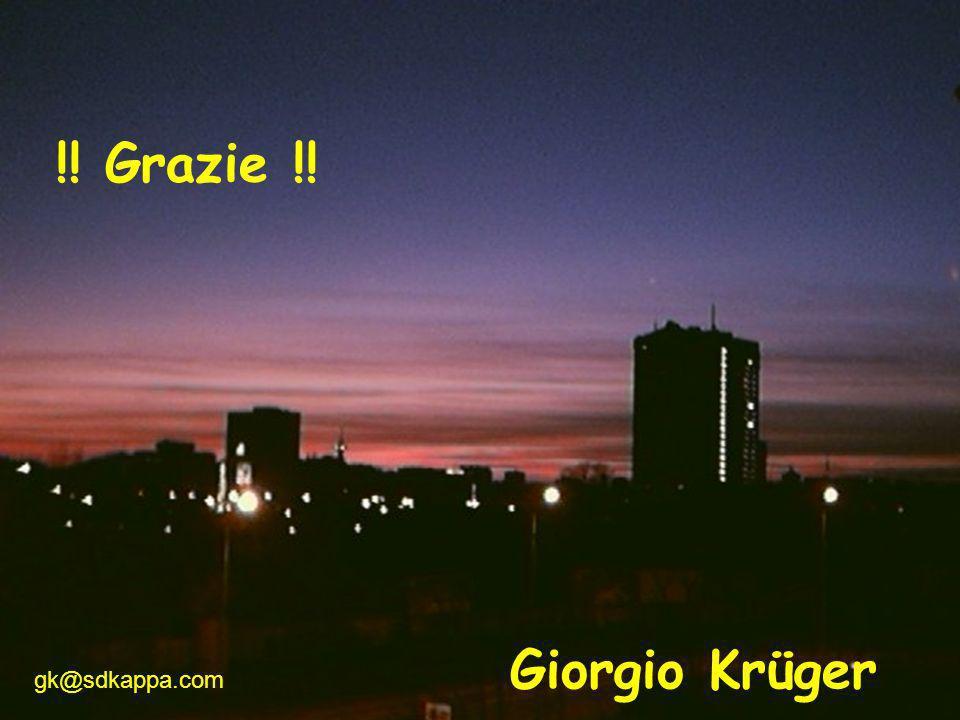 gck19 gk@sdkappa.com Giorgio Krüger !! Grazie !!