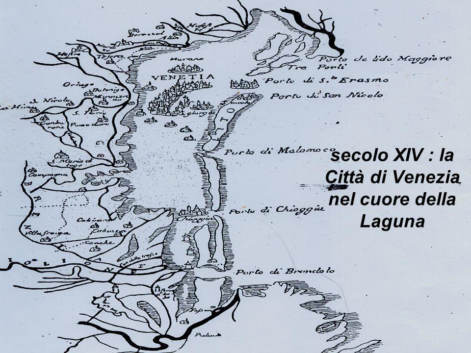 isis luzzatto 2^ DT 2006/0724 secolo XIV : la Città di Venezia nel cuore della Laguna