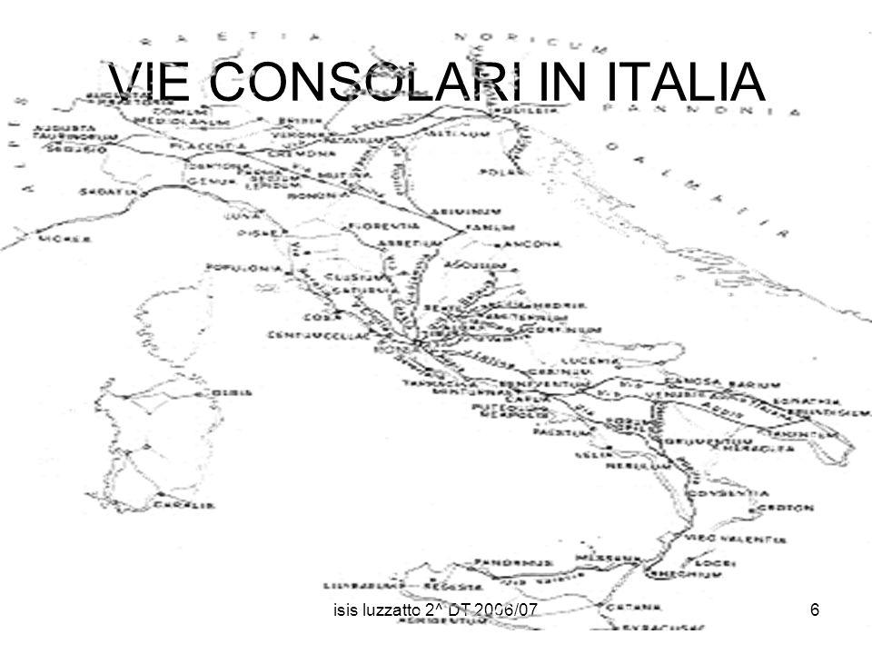 isis luzzatto 2^ DT 2006/076 VIE CONSOLARI IN ITALIA