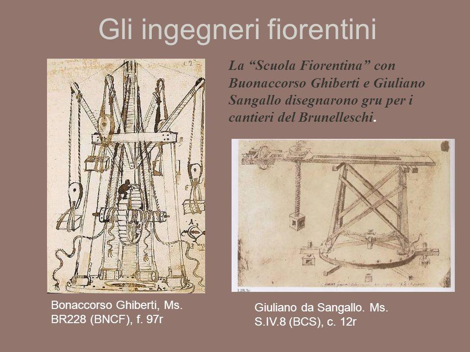 Gli ingegneri fiorentini Bonaccorso Ghiberti, Ms.BR228 (BNCF), f.