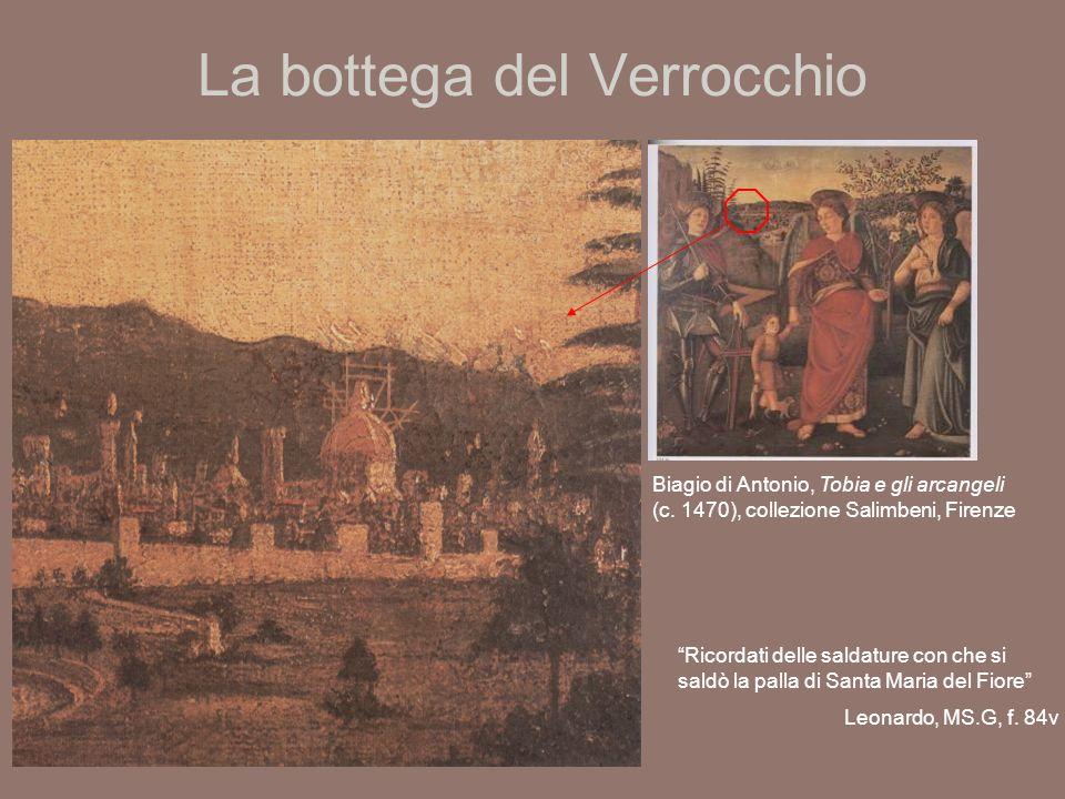 La bottega del Verrocchio Verrocchio, sfera di rame originaria che sovrastava la cupola di S.