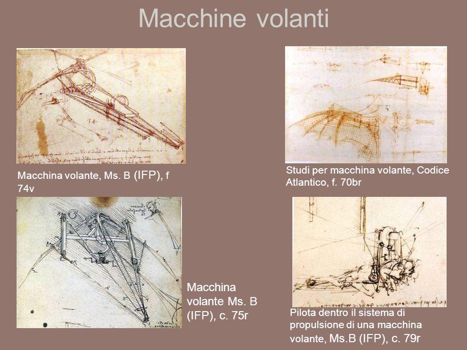 Macchine volanti Macchina volante, Ms.