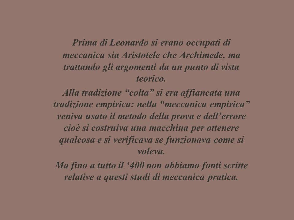 Testi di meccanica antichi e medievali Commento alle Questioni di Meccanica di Aristotele Giordano Nemorario, De ponderibus proportione