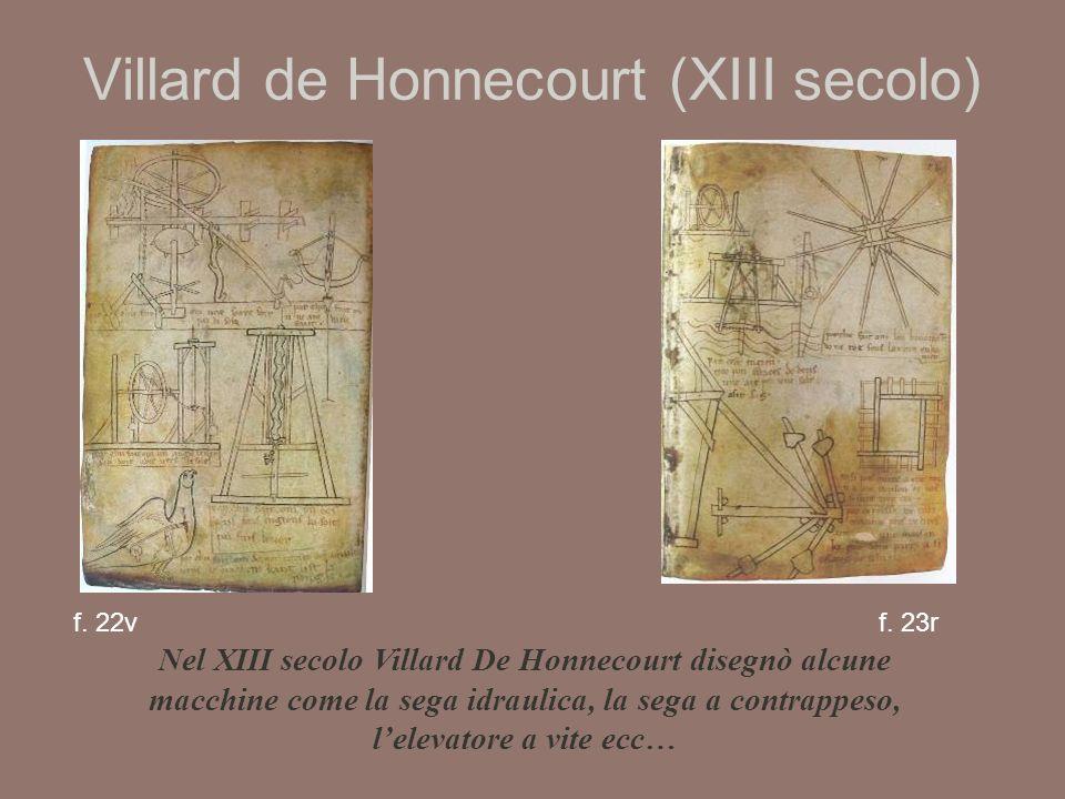 Villard de Honnecourt (XIII secolo) f.22vf.