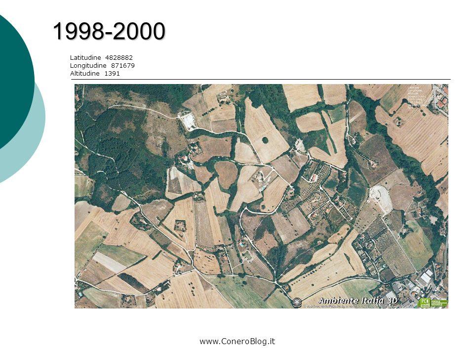 www.ConeroBlog.it 2006-2008 Legenda: area di costruzione Latitudine 4826898 Longitudine 872244 Altitudine 1053