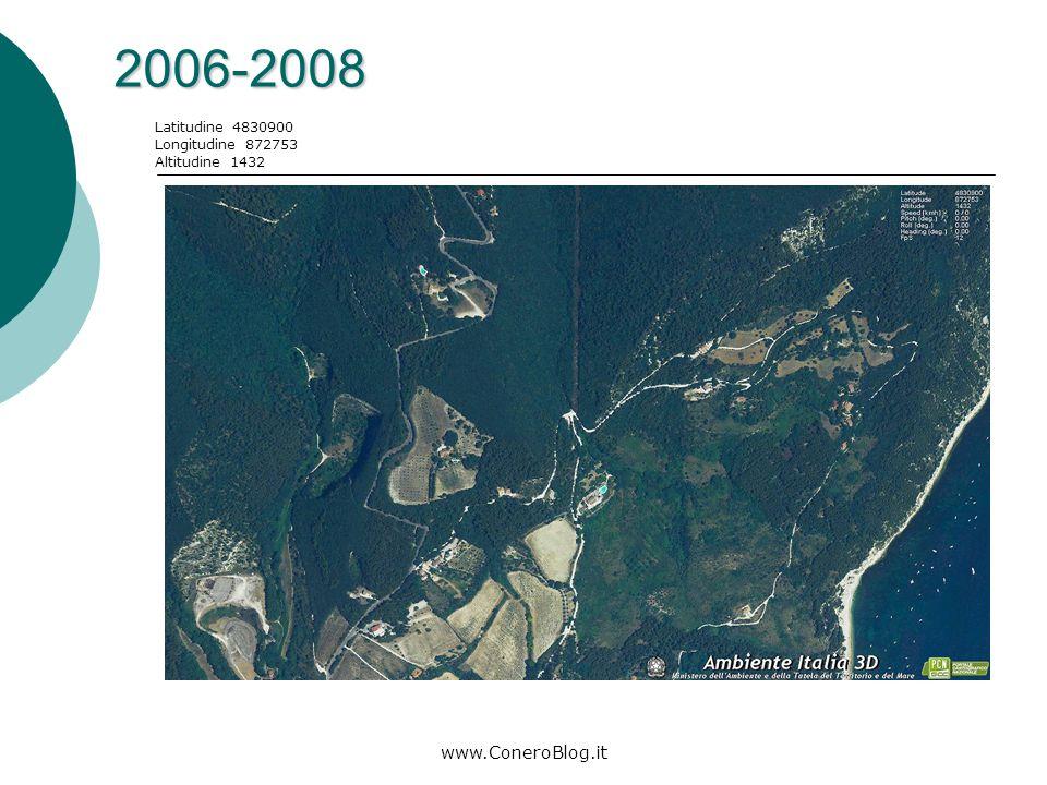 www.ConeroBlog.it 1998-2000 Latitudine 4830900 Longitudine 872753 Altitudine 1432