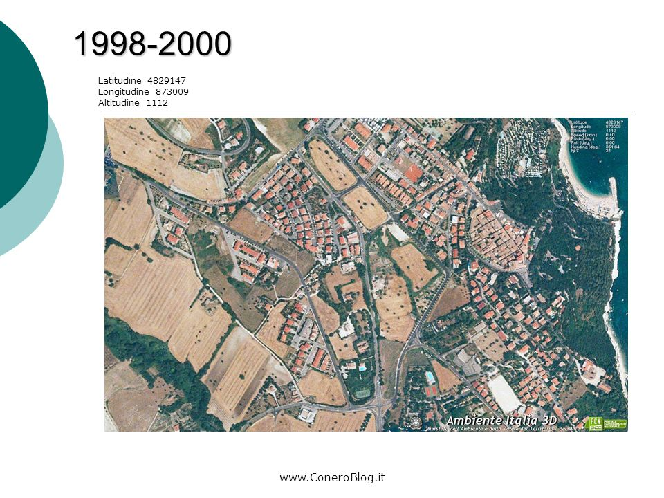 www.ConeroBlog.it 2006-2008 Latitudine 4828611 Longitudine 870963 Altitudine 4551
