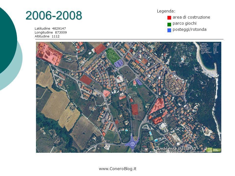 www.ConeroBlog.it 1998-2000 Latitudine 4829147 Longitudine 873009 Altitudine 1112