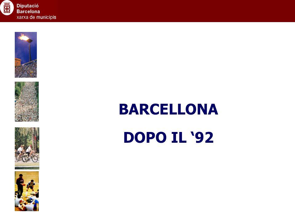 BARCELLONA DOPO IL 92