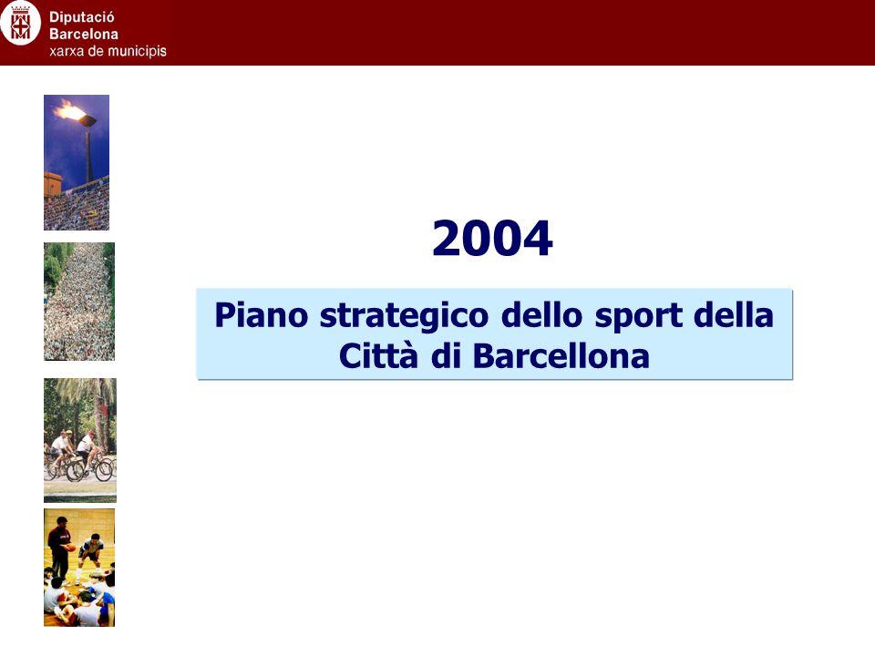 Piano strategico dello sport della Città di Barcellona 2004