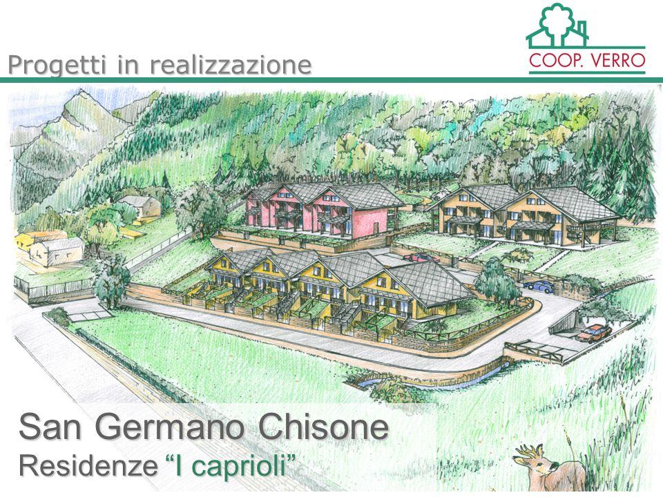 San Germano Chisone Residenze I caprioli Progetti in realizzazione