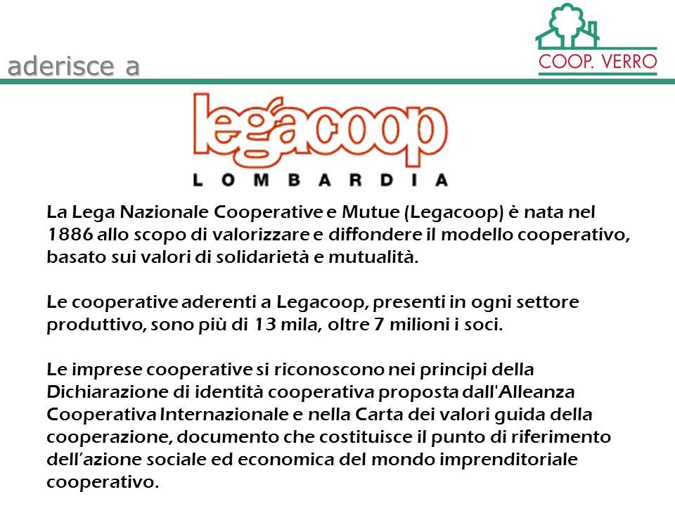 La Lega Nazionale Cooperative e Mutue (Legacoop) è nata nel 1886 allo scopo di valorizzare e diffondere il modello cooperativo, basato sui valori di solidarietà e mutualità.