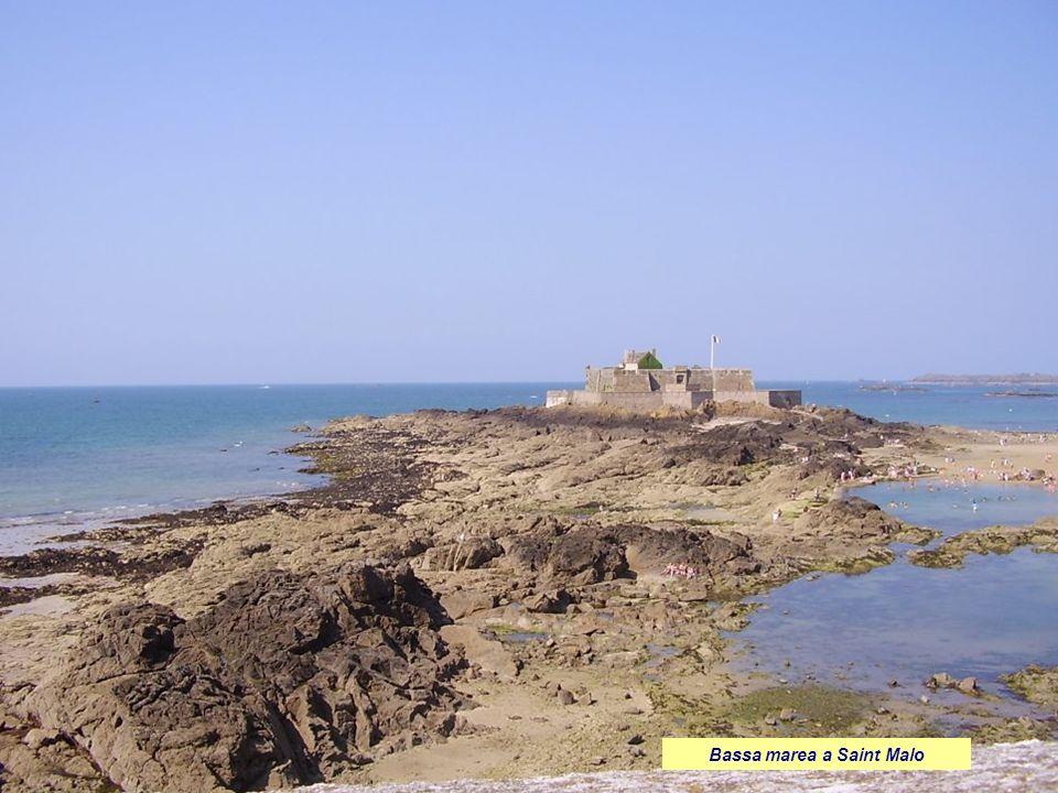 Bassa marea a Saint Malo