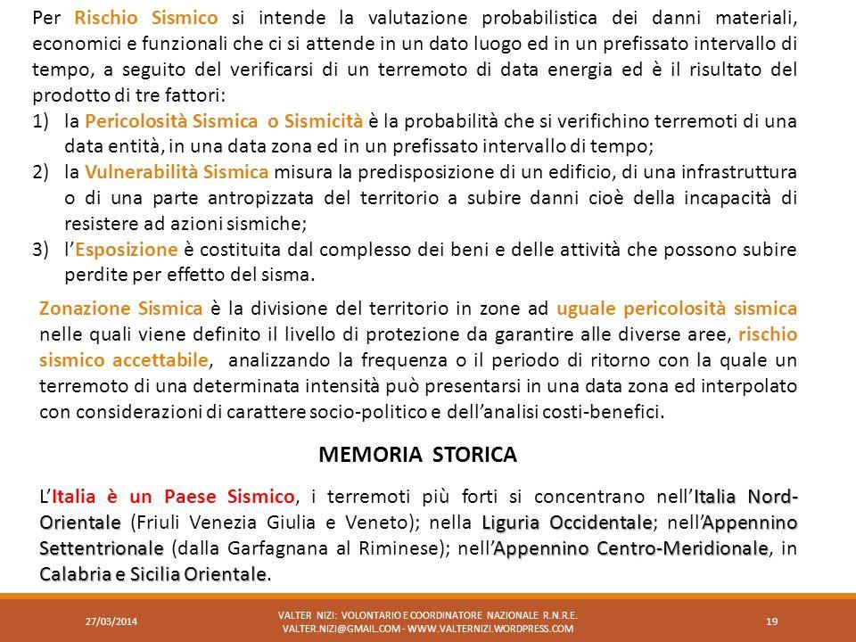 Italia Nord- OrientaleLiguria OccidentaleAppennino SettentrionaleAppennino Centro-Meridionale Calabria e Sicilia Orientale LItalia è un Paese Sismico,