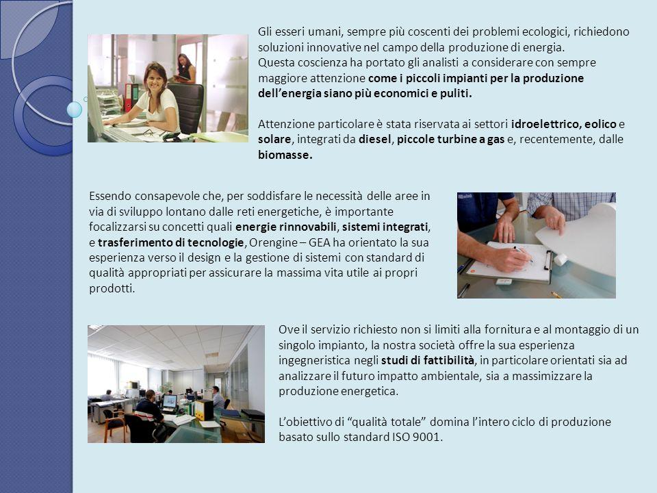 Orengine – GEA opera nel mercato dellenergia dagli inizi degli anni ottanta, sviluppando il proprio know how al più elevato livello industriale.