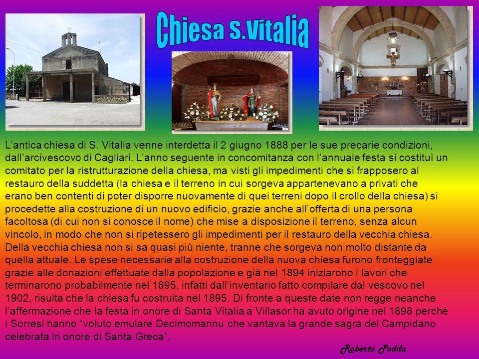 Lantica chiesa di S.