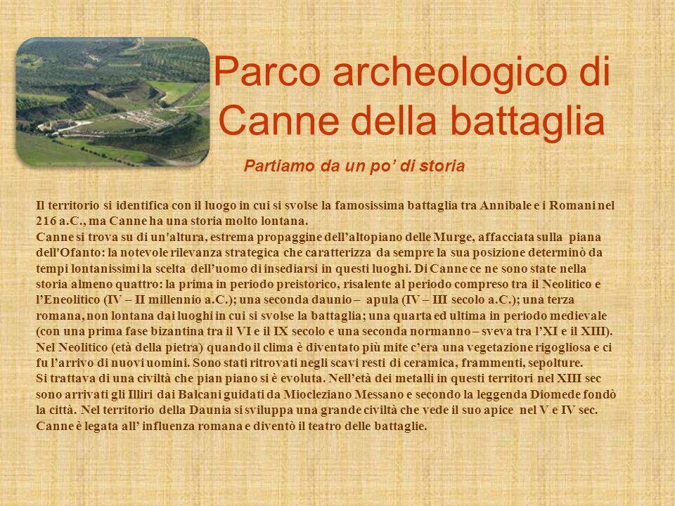 Il 24 marzo 2011 siamo andati a visitare il sito archeologico di Canne della Battaglia e il Ponte Romano di Canosa di Puglia. Vi guideremo in questo p