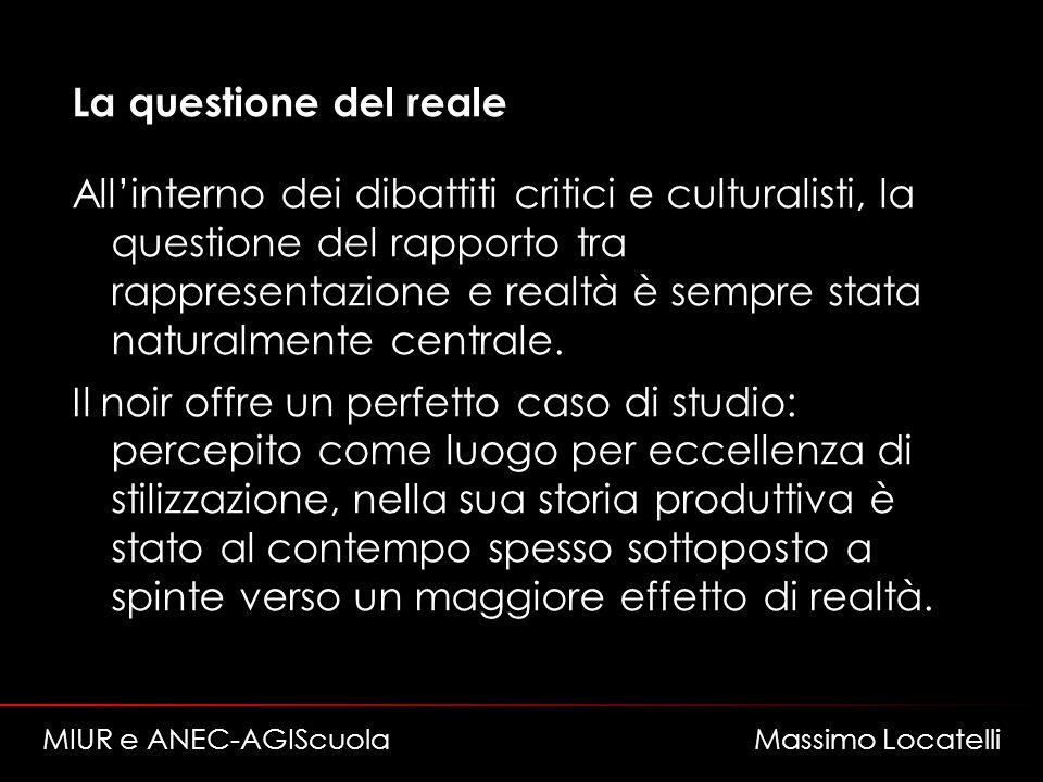La questione del reale Allinterno dei dibattiti critici e culturalisti, la questione del rapporto tra rappresentazione e realtà è sempre stata naturalmente centrale.